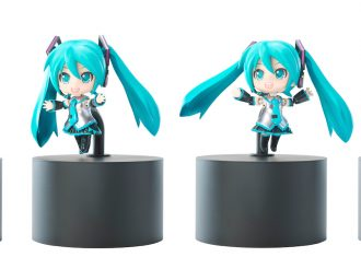 "iDoll and Nendoroid have come out with a ""Hatsune Miku"" communication robot!"