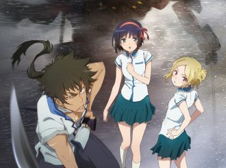 "We start the comment relay of the cast of the TV animation ""Kuromukuro"" which starts on Thursday April 7th."
