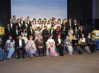 The Contribtion Award is given to the Voice Actors/Actresses who have contributed to various genres for a long period.
