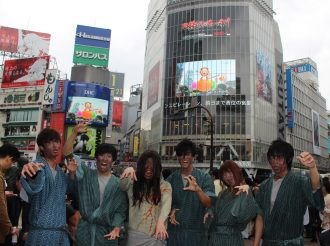 Kabane of Kabaneri of the Iron Fortress Took Over Shibuya!!