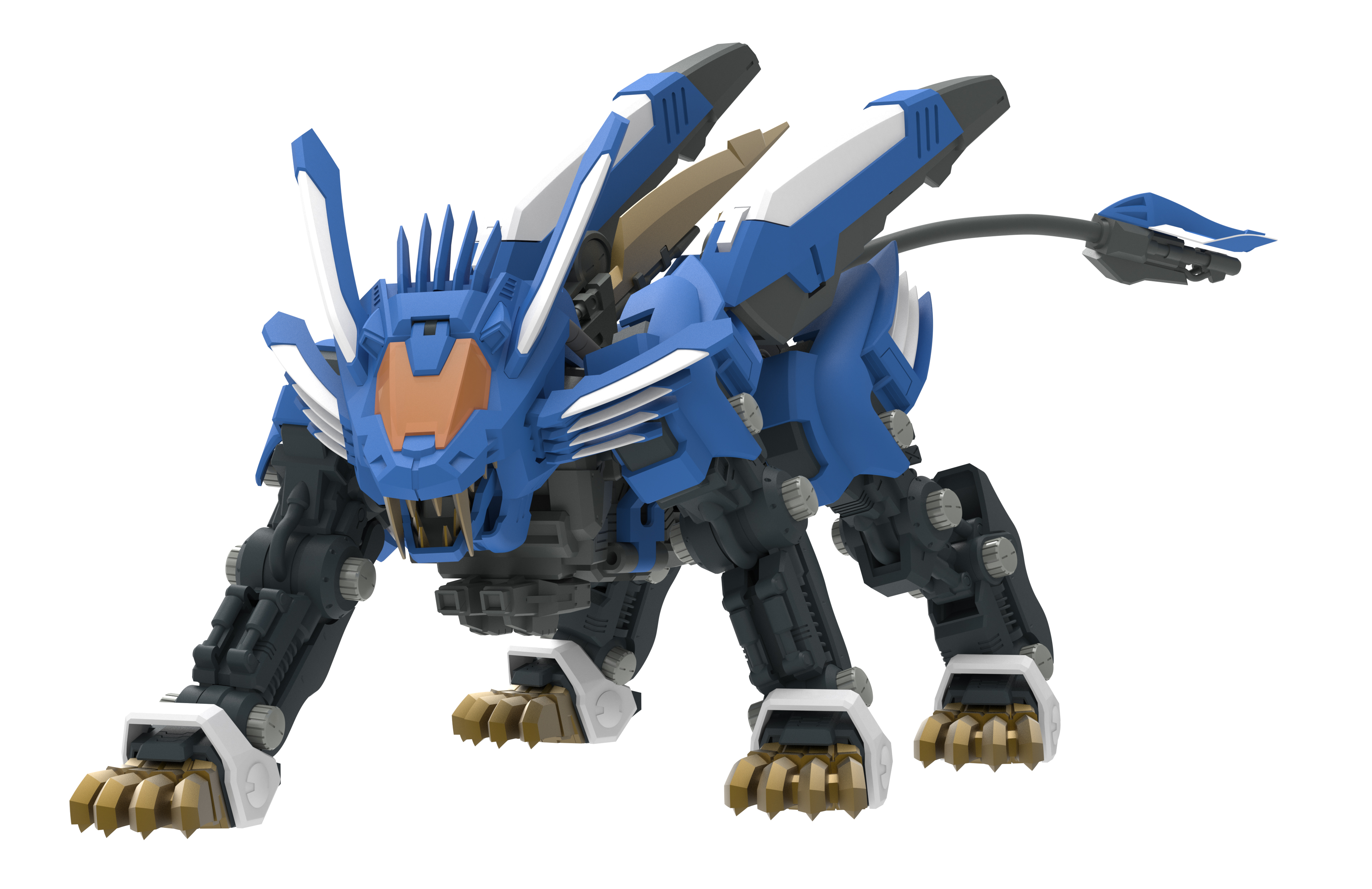 Zoids Action Figure Quot Za Blade Liger Ab Quot Will Be Released In October 2016 Manga Tokyo