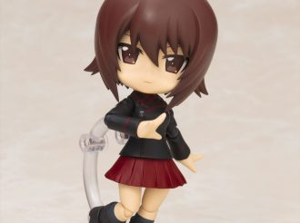 "Maho Nishizumi Appears as Cu-poche from ""Girls und Panzer"""