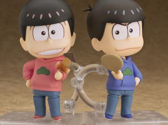 "Osomatsu and Karamatsu Become Super Deformed Articulated Two-Head-High Figures ""Nendoroid""!"