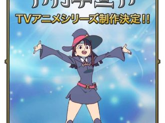Trigger's most recent work 'Little Witch Academia' will get produced into an TV anime!!