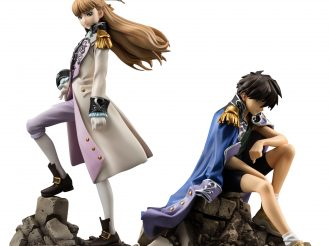 "Figures of ""Heero"" and ""Relena"" from ""New Mobile Suit Gundam Wing"" have been released!"