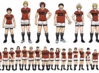 Trailer of the new rugby anime All OUT!! Released!