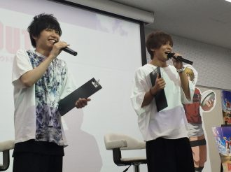 """Report on the Special talk show with the voice actors of """"ALL OUT"""""""
