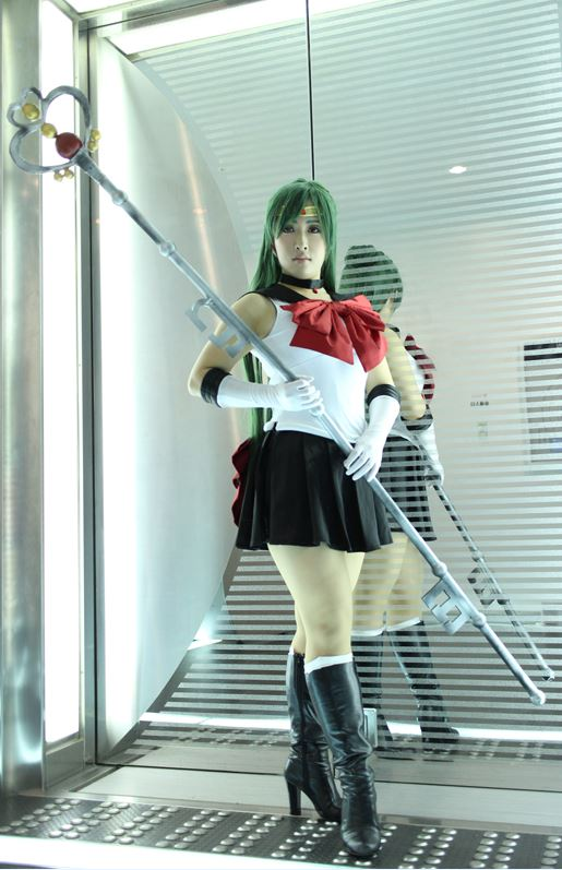 Cosplayer: Hibana | Cosplay: Sailor Pluto from Sailor Moon