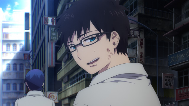 new tv anime series of  u0026quot blue exorcist