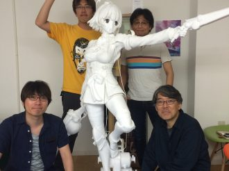 Behind-the-scenes story of the human-sized Mumei statue and directors revealed!!