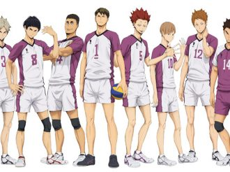 "Haikyuu!! ""Shiratorizawa Academy"" New illustration revealed!"