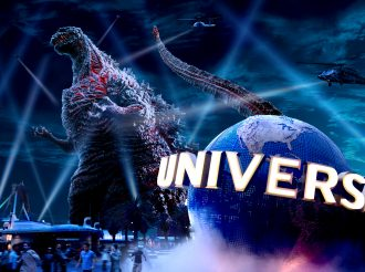 """Godzilla The Real 4-D"": New attraction in Universal Cool Japan!"