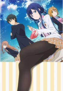 TV Anime | Masamune-kun's Revenge | Key Visual