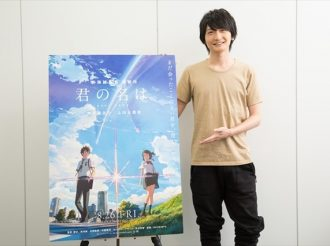 Interview with Nobunaga Shimazaki on Kimi no Na wa, the latest anime film by Makoto Shinkai