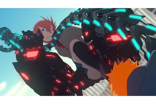 original anime mecha ude and its succesful kickstarter campaign
