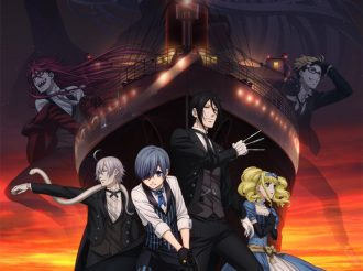 Black Butler: This are the Main Visuals of the New Movie!