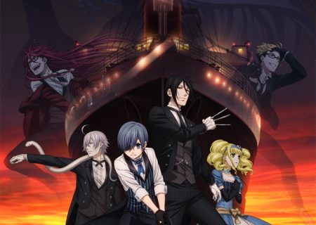Black Butler: Book of the Atlantic Anime Movie Key Visual