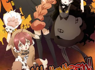 Magic Girl Raising Project: Halloween Wallpaper!