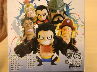 Unboxing Mini Figures from AniChara Heroes: One Piece Dressrosa Arc Part 3