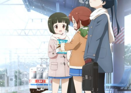 Anime Movie 'Kin-iro Mosaic Pretty Days' Key visual