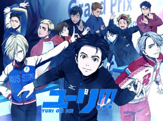 TV Anime Yuri!!! on Ice Themed Cafe Will Open in December