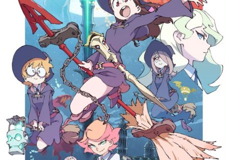 Little Witch Academia TV Anime Key Visual, Winter 2017