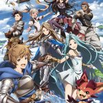 GRANDBLUE FANTASY THE ANIMATION Key Visual