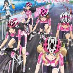 TV Anime | Key visual of Minami Kamakura High School Cycling Club
