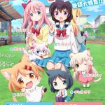 TV Anime Nyanko Days Key Visual