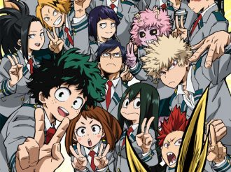 TV Anime 'My Hero Academia': Design and Cast for Monoma and Shiozaki