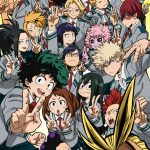 My Hero Academia (Boku no Hero Academia) Second Season Key Visual