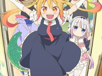 Miss Kobayashi's Dragon Maid: Latest Key Visual & First PV Arrived!