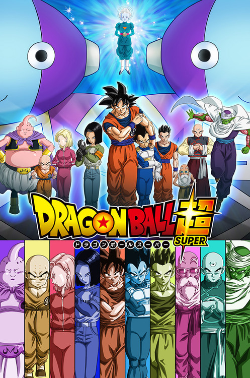 Dragon Ball Super Poster for Universe Survival Saga Anime Arc