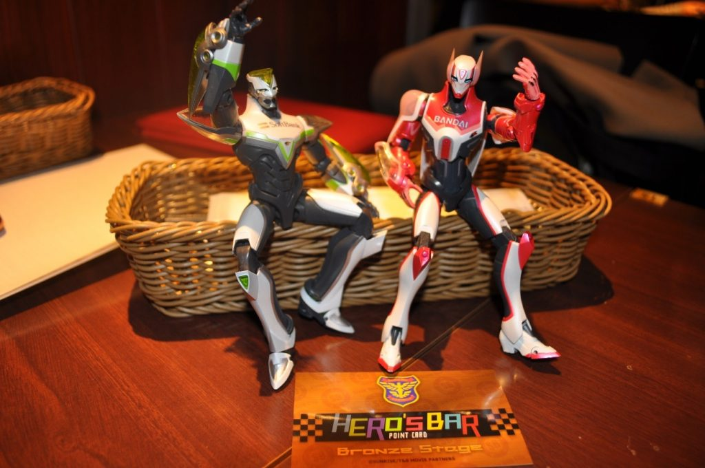Themed Bar Report: CHARACRO feat. TIGER & BUNNY -The Rising- | Figures 1