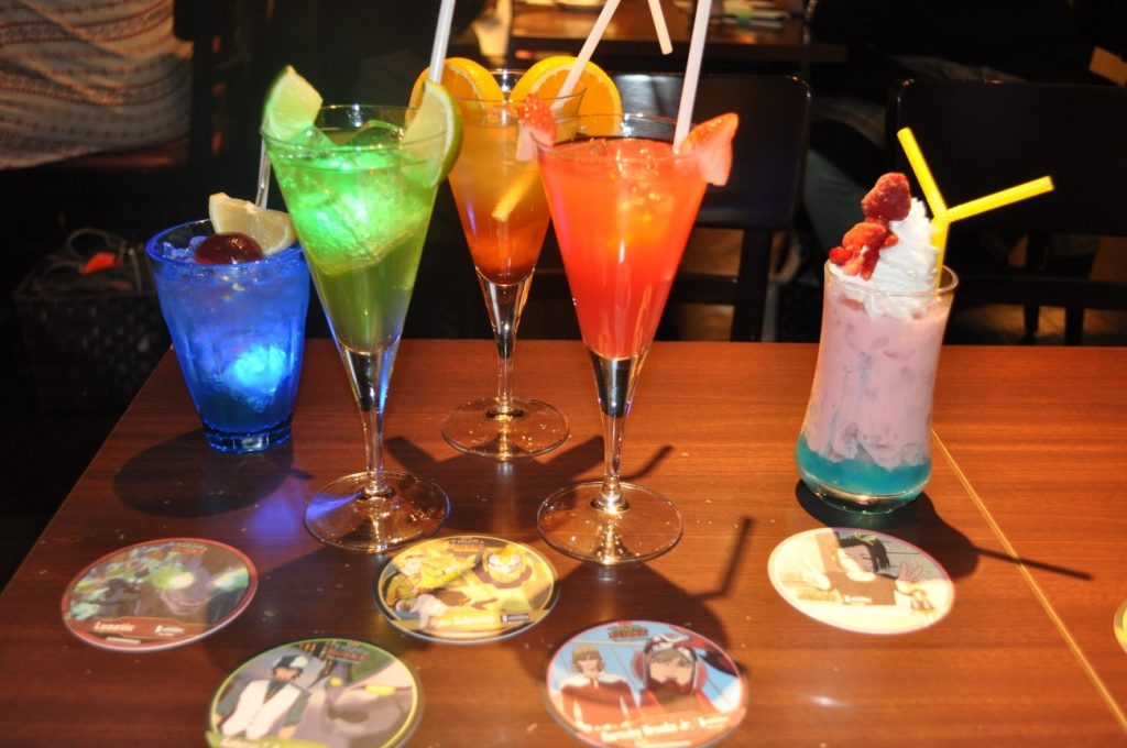 Themed Bar Report: CHARACRO feat. TIGER & BUNNY -The Rising- | Drinks
