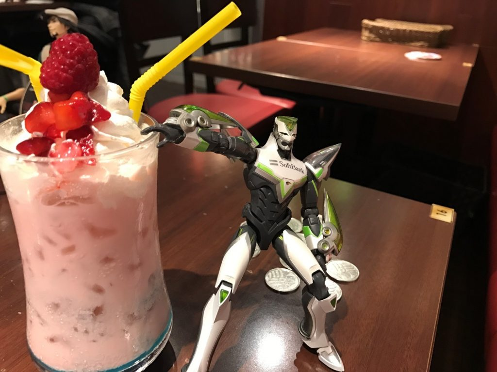 Themed Bar Report: CHARACRO feat. TIGER & BUNNY -The Rising- | Kaede with Drink