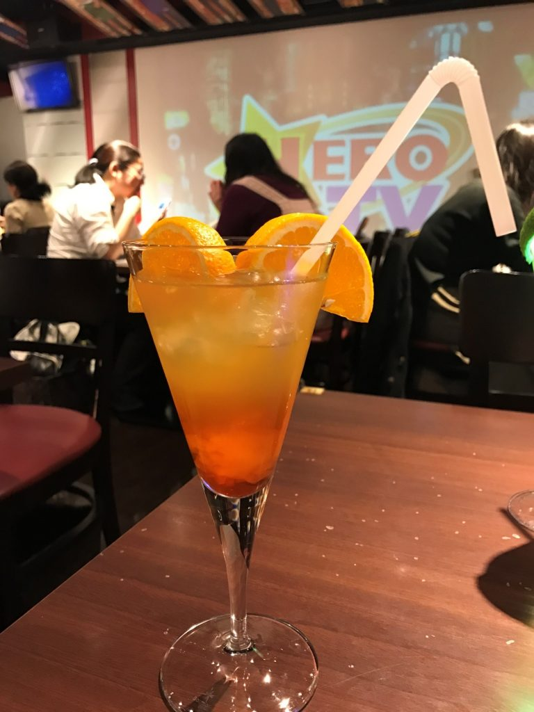 Themed Bar Report: CHARACRO feat. TIGER & BUNNY -The Rising- | Orange Drink