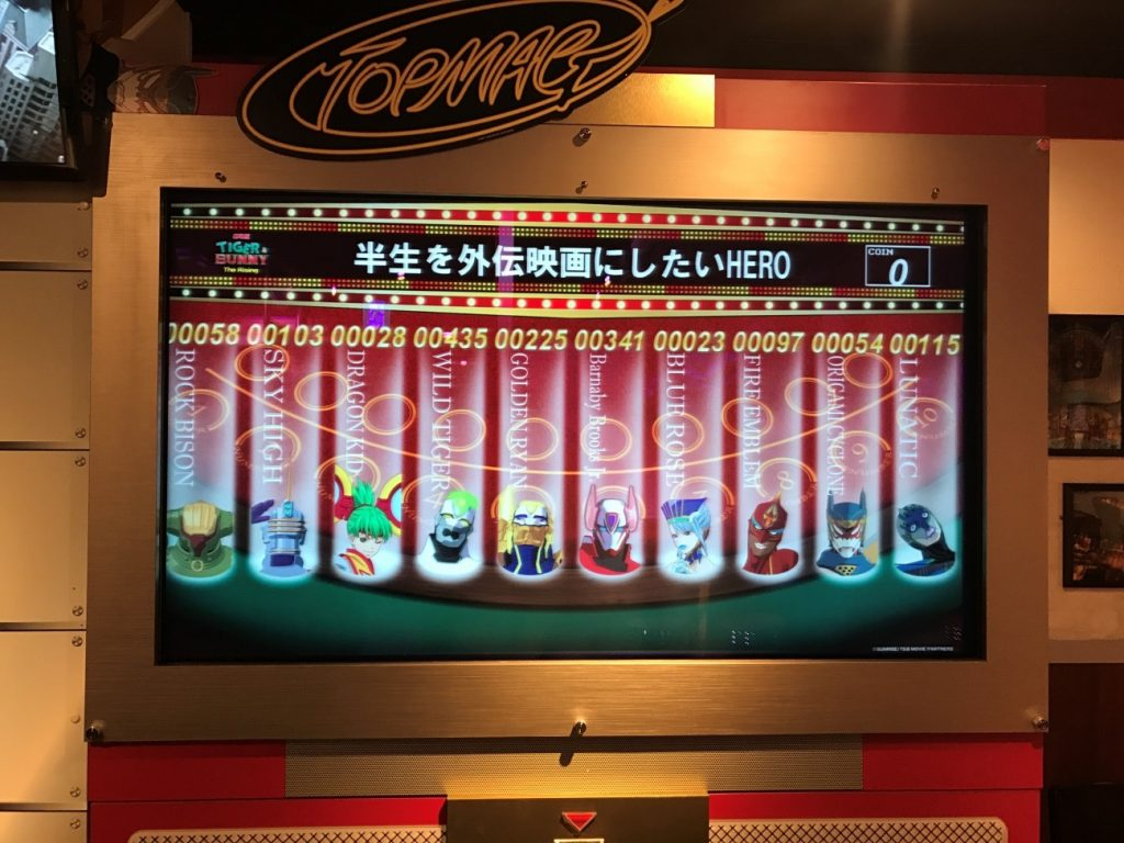 Themed Bar Report: CHARACRO feat. TIGER & BUNNY -The Rising- | Voting