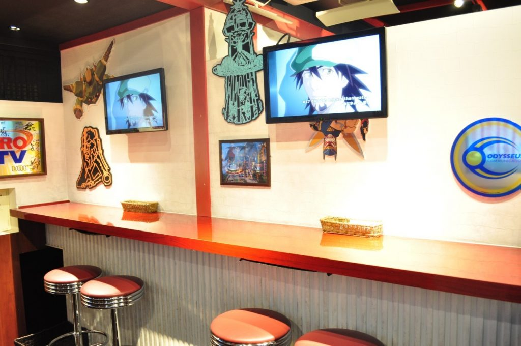 Themed Bar Report: CHARACRO feat. TIGER & BUNNY -The Rising- | Cafe stools