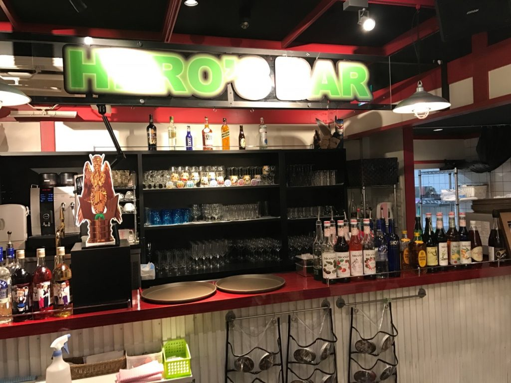 Themed Bar Report: CHARACRO feat. TIGER & BUNNY -The Rising- | Hero's bar
