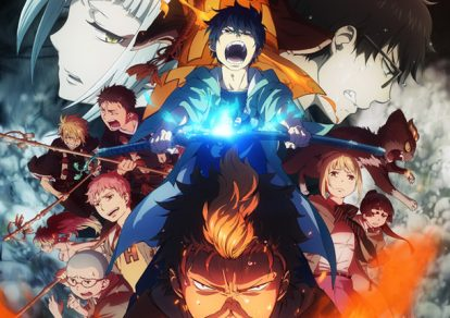 Blue Exorcist -Kyoto Impure King Arc Key Visual | TV Anime