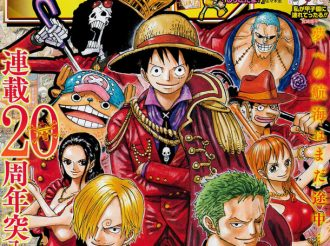 Luffy and Friends Celebrate One Piece's 20th Anniversary at WSJ
