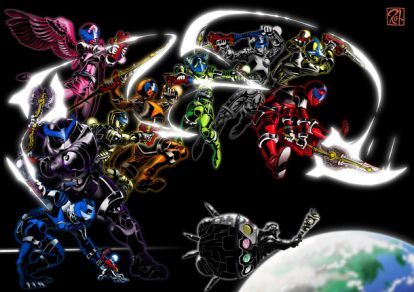 Concept Art for Uchuu Sentai Kyuranger
