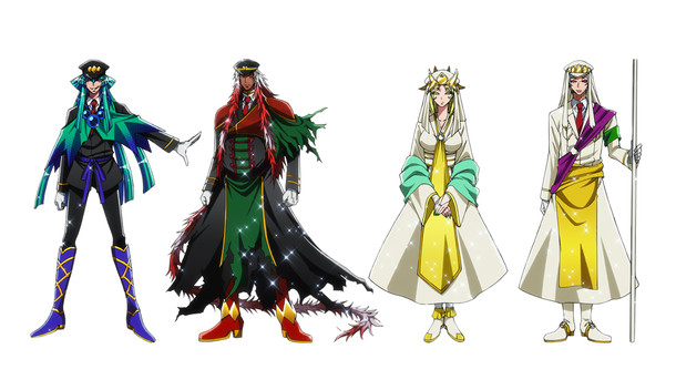 Nanbaka Anime. Second Season Character Visual.