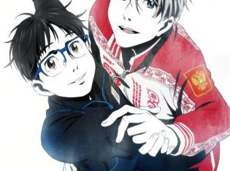 Yuri!! On Ice Vol 1 Blu-Ray and DVD Jacket Features Yuri and Victor Holding Hands!