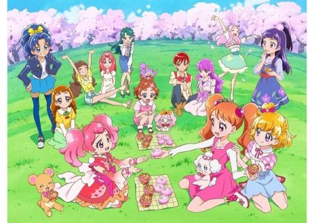 Pretty Cure Dream Stars! Sakura Blossom Image