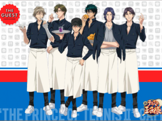 'New Prince of Tennis' Café Will Open at Ikebukuro Parco in February