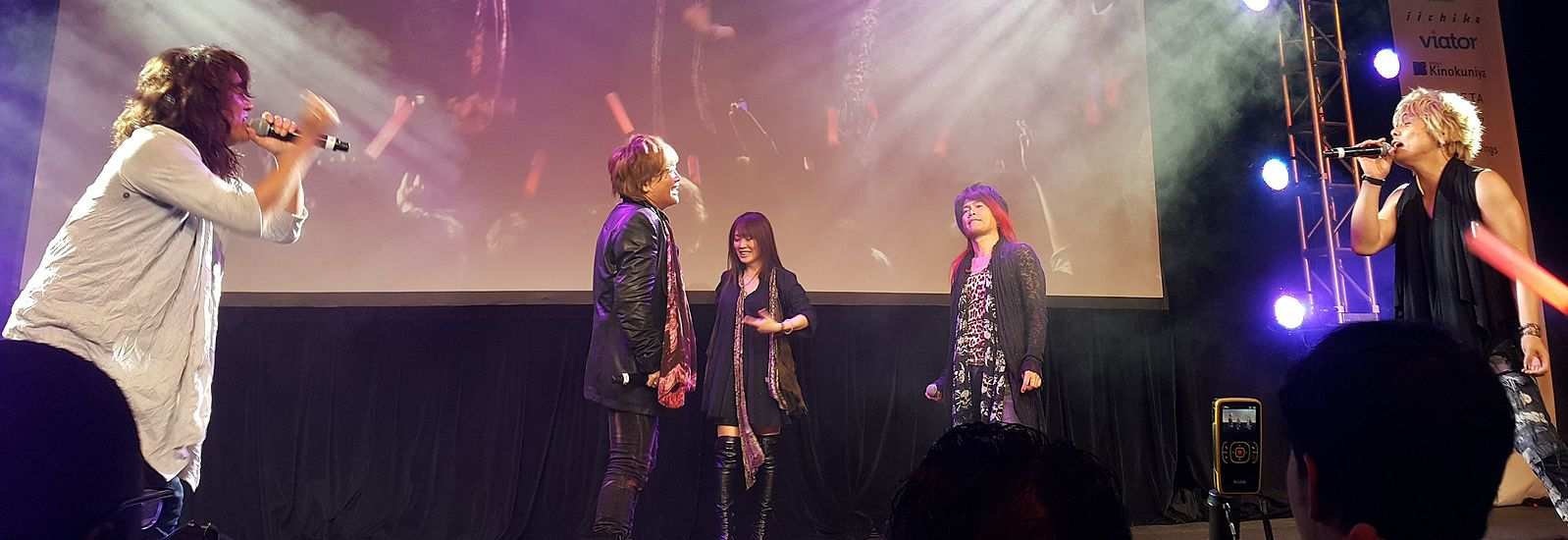 JAM Project at the 7th annual J-Pop Summit in San Francisco, California.