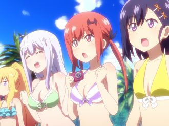 Anime 'Gabriel Dropout': Screenshots from Episode 4