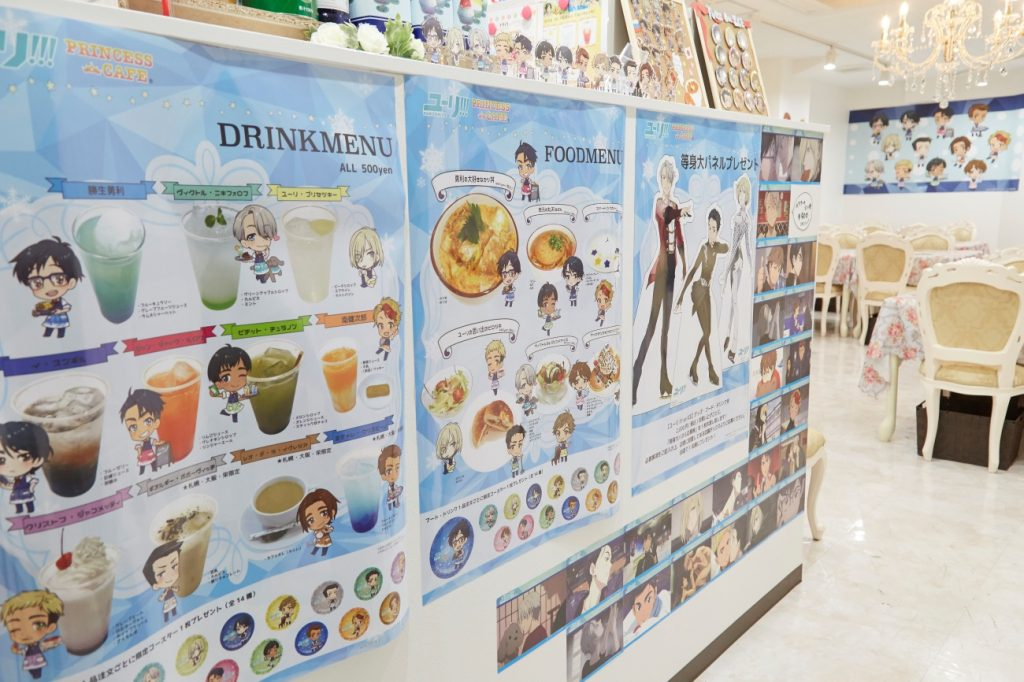 Yuri!!! on ICE Collaboration Café | MANGA.TOKYO Photo Report
